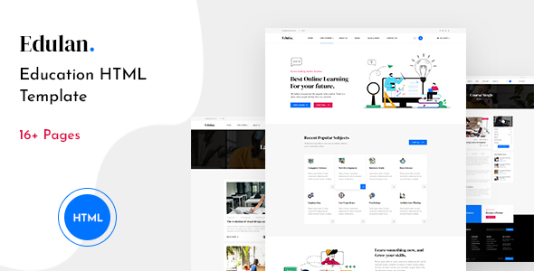 [Free Download] Edulan – Education HTML Template (Nulled) [Latest Version]