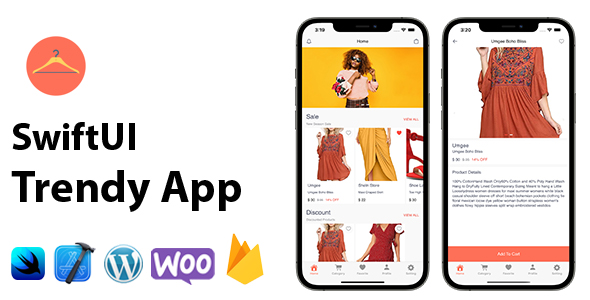 [Free Download] SwiftUI Trendy App | Woocommerce Full iOS Application (Nulled) [Latest Version]