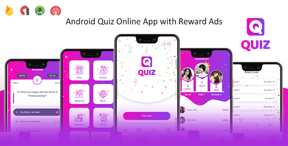[Free Download] Quiz Online App with Earning System & Reward Ads + Admin Panel (Nulled) [Latest Version]