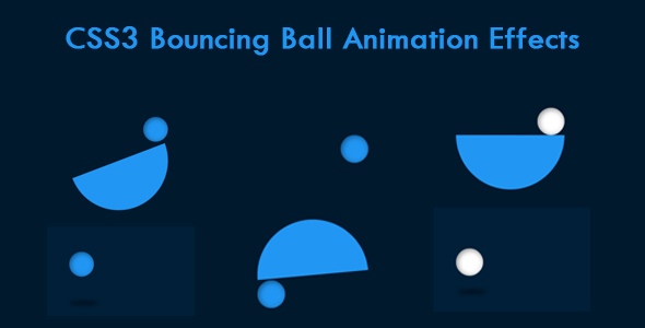 [Free Download] CSS3 Bouncing Ball Animation Effects (Nulled) [Latest Version]