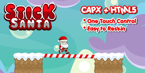 [Free Download] Stick Santa – Construct 2 Html5 Game (Nulled) [Latest Version]