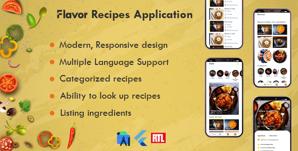 [Free Download] Flavor App (Nulled) [Latest Version]
