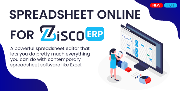 [Free Download] Spreadsheet online for ZiscorERP (Nulled) [Latest Version]