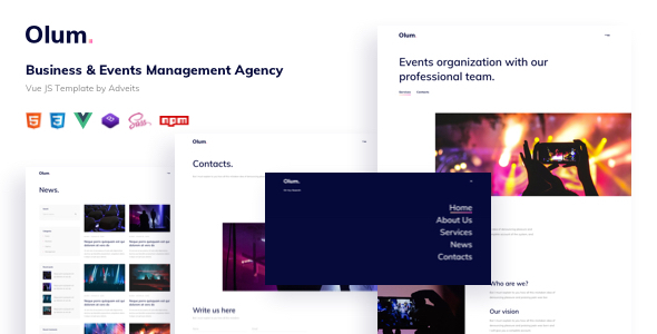 [Free Download] Olum – Business & Events Management Agency Vue JS Template (Nulled) [Latest Version]