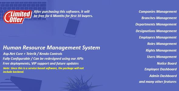[Free Download] HRMS – Human Resource Management System (Nulled) [Latest Version]