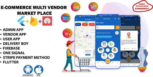 [Free Download] Multi vendor app for Restaurant, pharmacy, Grocery, I.T etc. (Nulled) [Latest Version]