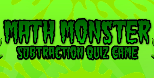 [Free Download] Math Monster – HTML5 Game (Nulled) [Latest Version]