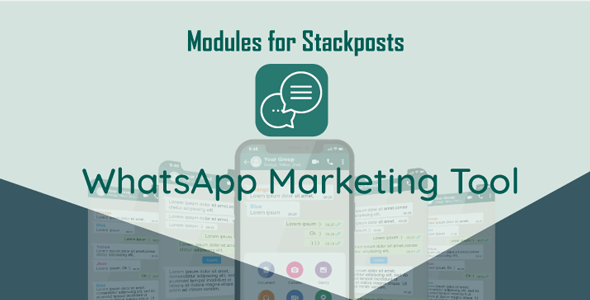 [Free Download] Whatsapp Marketing Tool Module For Stackposts (Nulled) [Latest Version]