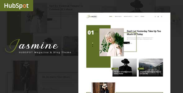 [Free Download] Jasmine – Blog and Magazine HubSpot Theme (Nulled) [Latest Version]