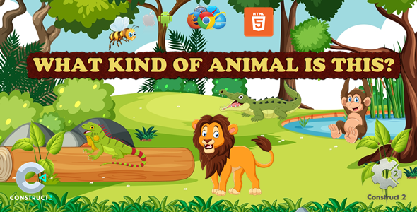 [Free Download] What Kind Of Animal Is This – Educational Game – (Capx/C3p) (Nulled) [Latest Version]