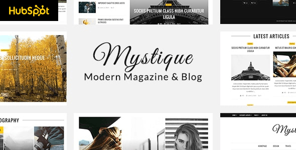 [Free Download] Mystique – Hubspot Theme for Blog and Magazine Purpose (Nulled) [Latest Version]