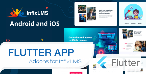[Free Download] Infix LMS Flutter – Flutter Mobile App for Android and iOS (Nulled) [Latest Version]