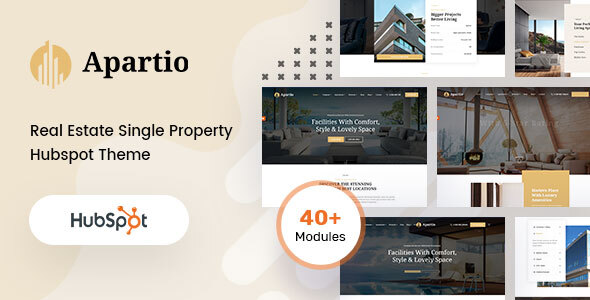 [Free Download] Apartio – Single Property  HubSpot theme (Nulled) [Latest Version]