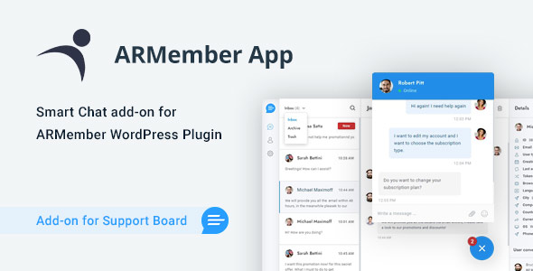 [Free Download] ARMember App for Support Board (Nulled) [Latest Version]
