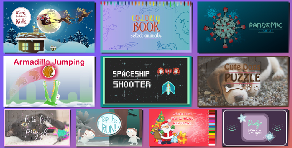 [Free Download] Bundle 10 Games 01 | HTML5 • Construct Games (Nulled) [Latest Version]