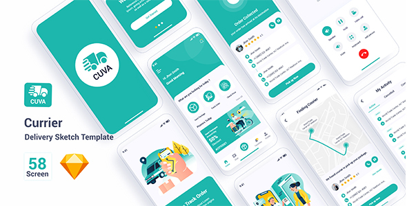 [Free Download] Cuva – Currier Delivery Sketch Template (Nulled) [Latest Version]