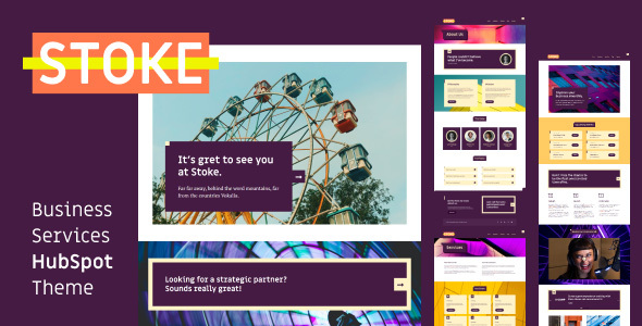 [Free Download] Stoke – Business Services HubSpot Theme (Nulled) [Latest Version]