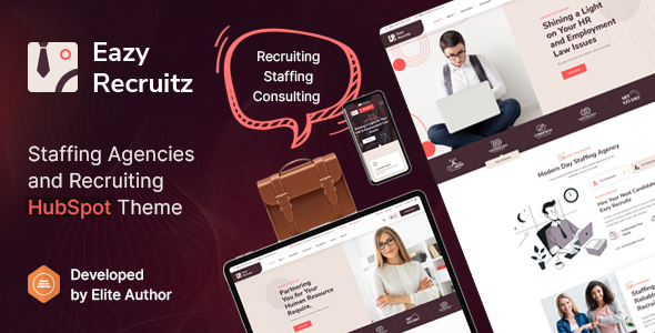 [Free Download] Eazy Recruitz – Staffing Agencies HubSpot Theme (Nulled) [Latest Version]