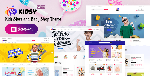 [Free Download] Kidsy – Kids Store and Baby Shop WooCommerce Theme (Nulled) [Latest Version]