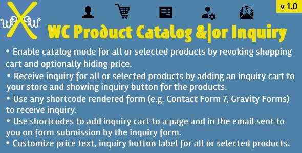 [Free Download] WooCommerce Product Catalog Inquiry (Nulled) [Latest Version]