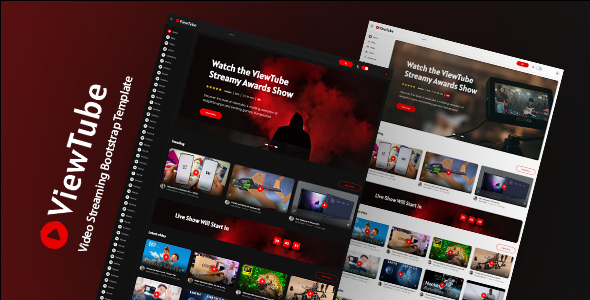 [Free Download] ViewTube – Video Streaming HTML5 Template (Nulled) [Latest Version]