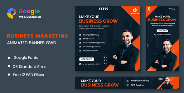 [Free Download] Business Grow Animated Banner GWD (Nulled) [Latest Version]