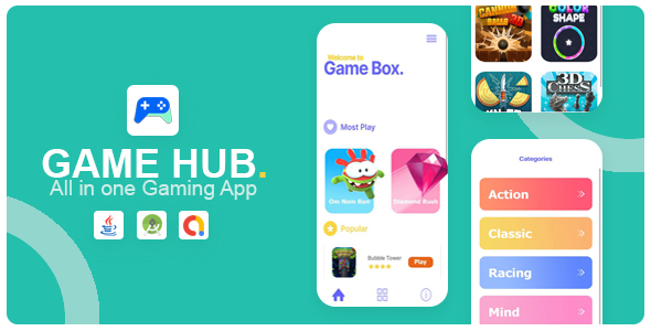 [Free Download] Game Hub – All in one game app (Nulled) [Latest Version]
