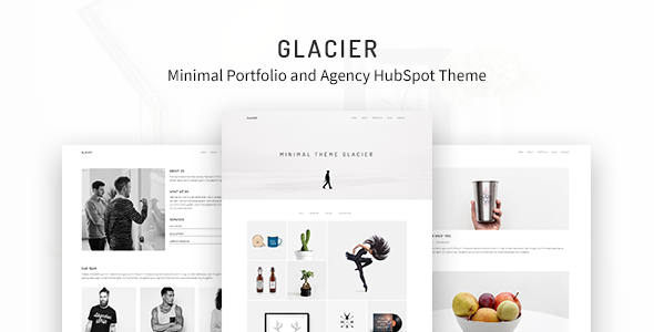 [Free Download] Glacier – Minimal Portfolio and Agency HubSpot Theme (Nulled) [Latest Version]