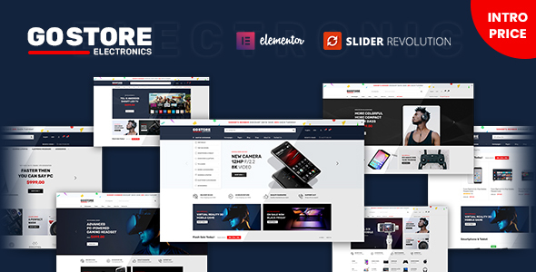 [Free Download] GoStore – Elementor WooCommerce WordPress Theme (Nulled) [Latest Version]