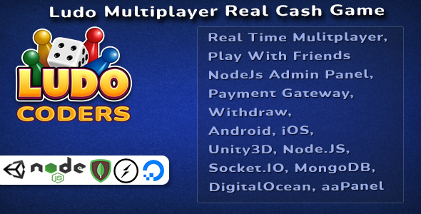 [Free Download] Ludo Multiplayer Real Cash Game (Nulled) [Latest Version]
