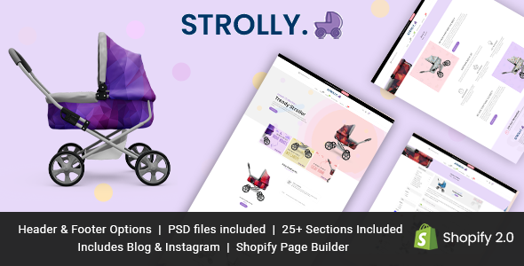 [Free Download] Strolly Single Product Shopify Theme (Nulled) [Latest Version]