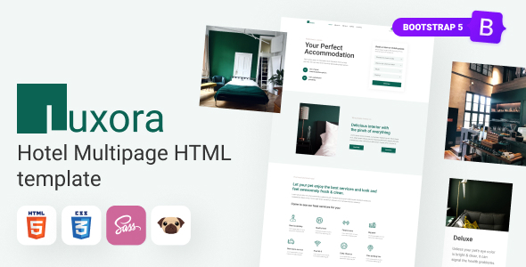 [Free Download] Luxora – HTML5 Luxury Interactive Hotel Template (Nulled) [Latest Version]