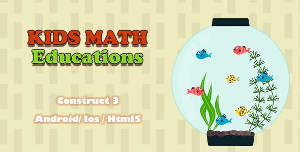 [Free Download] Kids Math Educations – HTML5 Game (Construct 3) (Nulled) [Latest Version]
