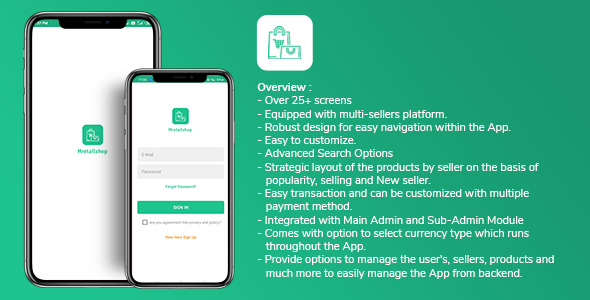 [Free Download] Multi-seller eCommerce MRetailshop Android Application with Main Admin and Seller SubAdmin (Nulled) [Latest Version]