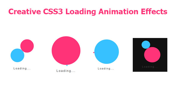 [Free Download] Creative CSS3 Loading Animation Effects (Nulled) [Latest Version]