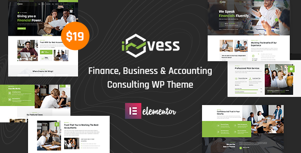 [Free Download] Invess – Accounting & Finance Consulting WordPress Theme (Nulled) [Latest Version]