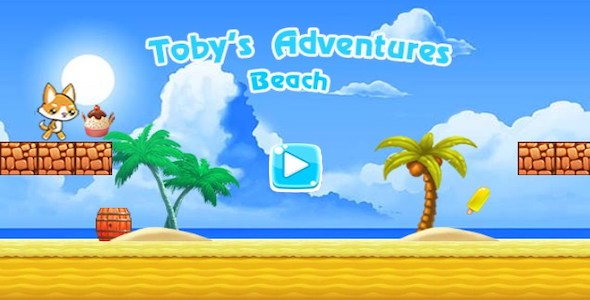 [Free Download] Toby's Adventures Beach   Android   Games   Google AdMob    Appodeal Ads (Nulled) [Latest Version]