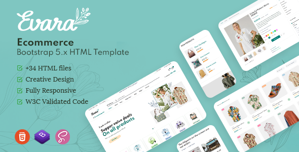 [Free Download] Evara – Bootstrap 5 Ecommerce HTML Template (Nulled) [Latest Version]