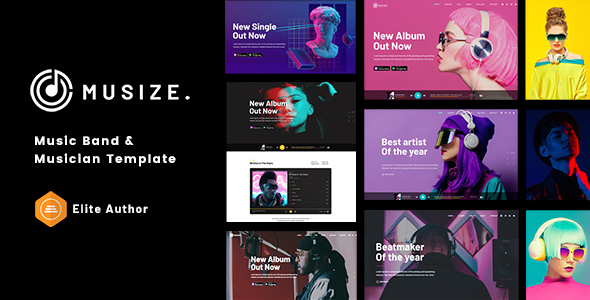 [Free Download] Musize – Music Band & Musician Template (Nulled) [Latest Version]