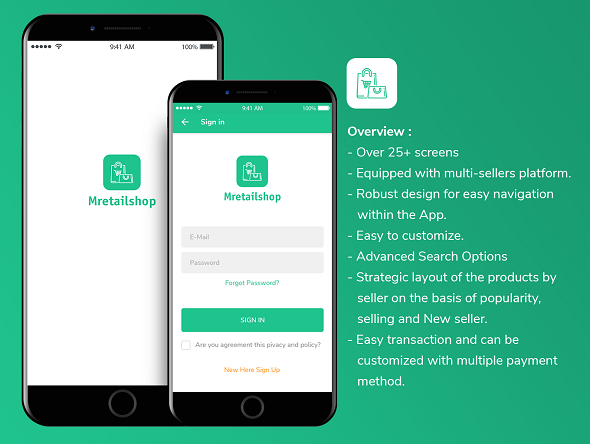 [Free Download] Multi-seller eCommerce MRetailshop iOS Application with Main Admin and Seller SubAdmin (Nulled) [Latest Version]