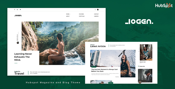 [Free Download] Logen – Blog and Magazine HubSpot Theme (Nulled) [Latest Version]