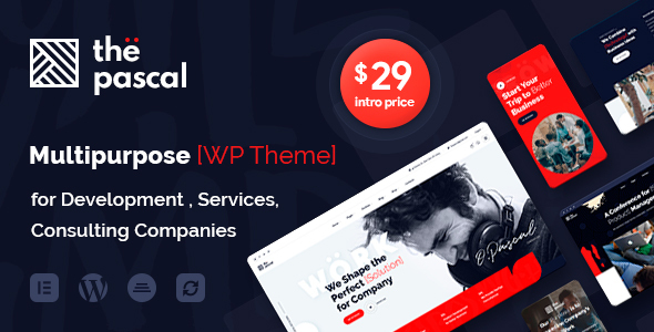[Free Download] thePascal – Multipurpose Business WordPress Theme (Nulled) [Latest Version]