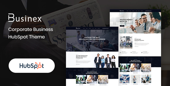 [Free Download] Businex – Corporate HubSpot Theme (Nulled) [Latest Version]