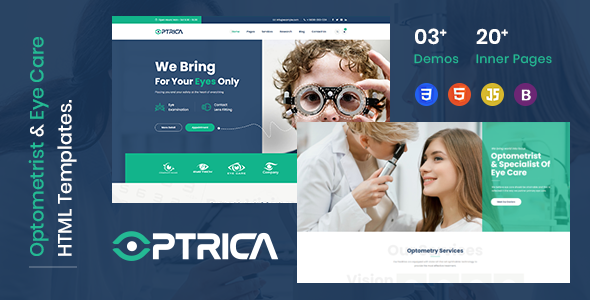 [Free Download] Optrica – Eyecare & Optometrist HTML5 Template (Nulled) [Latest Version]