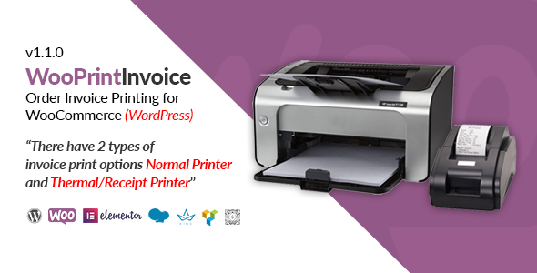 [Free Download] WooPrintInvoice | Order Invoice Printing for WooCommerce (Nulled) [Latest Version]