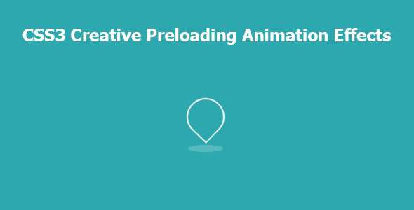 [Free Download] CSS3 Creative Preloading Animation Effects (Nulled) [Latest Version]