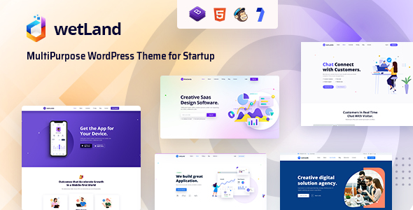 [Free Download] Wetland – MultiPurpose WordPress Theme for Startup (Nulled) [Latest Version]
