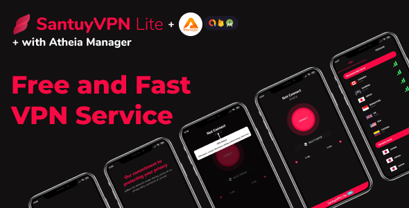 [Free Download] VPN Lite fast, light, unlimited bandwith VPN with admob and in app subscription (Nulled) [Latest Version]