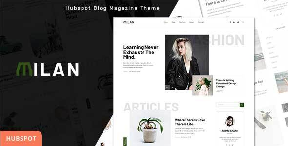 [Free Download] Milan – Blog and Magazine HubSpot Theme (Nulled) [Latest Version]