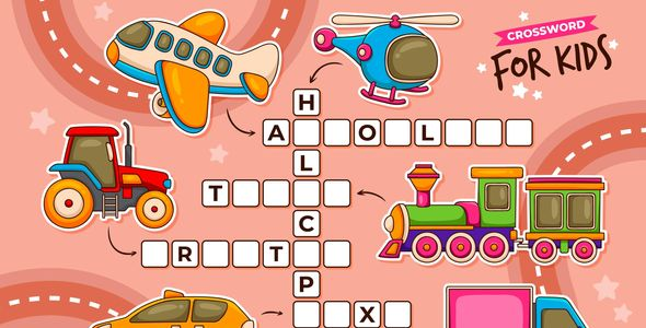 [Free Download] Crossword for Kids | Construct 3 (Nulled) [Latest Version]